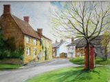 313 Scaldwell Watercolour 36 x 26 SOLD