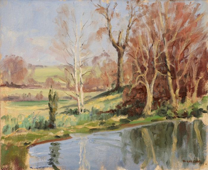 517 Washbrook Holcot Oil 30 x 25