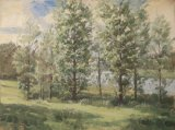55 Pitsford Water Environs Oil 41 x 30