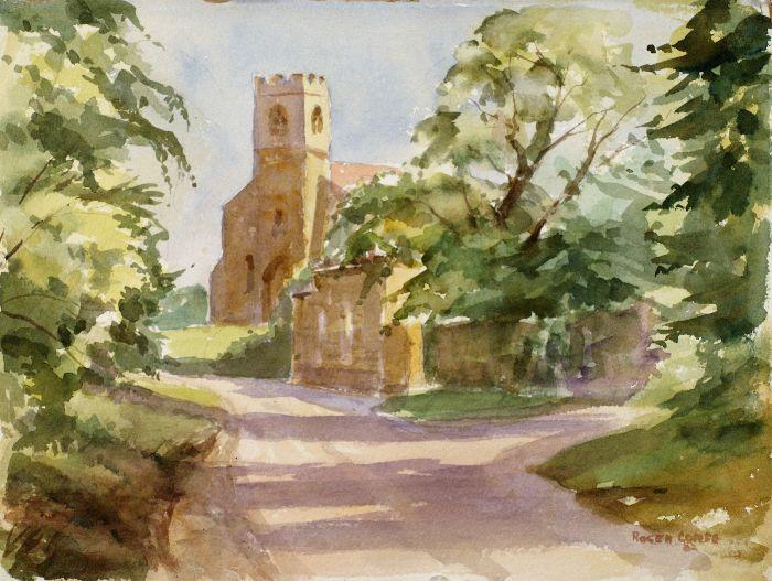 5 Hannington Watercolour 38 x 29