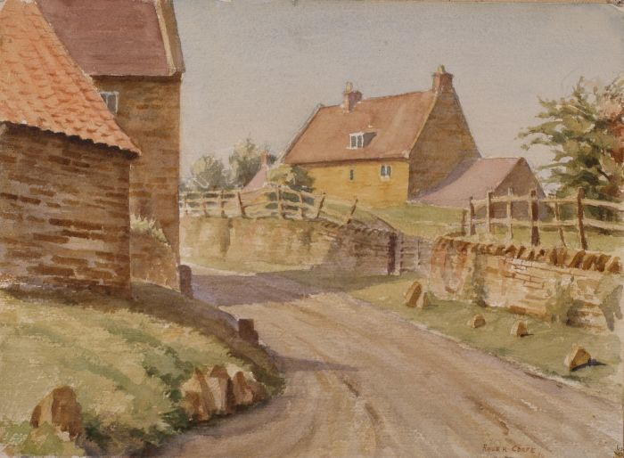 665 Harlestone Watercolour 38 x 29