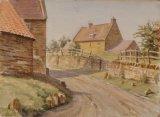 665 Harlestone Watercolour 38 x 29