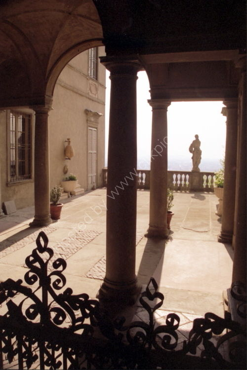 Atrium Courtyard of the Terzi Palace, Bergamo