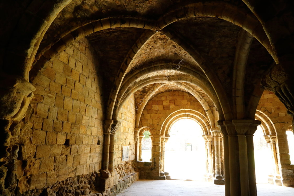 Chapter House, Kirkstall Abbey