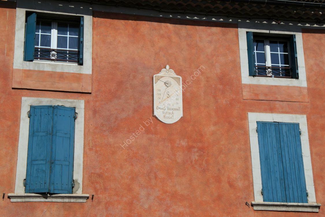 Sundial, Sainte-Cécile-les-Vignes, Provence