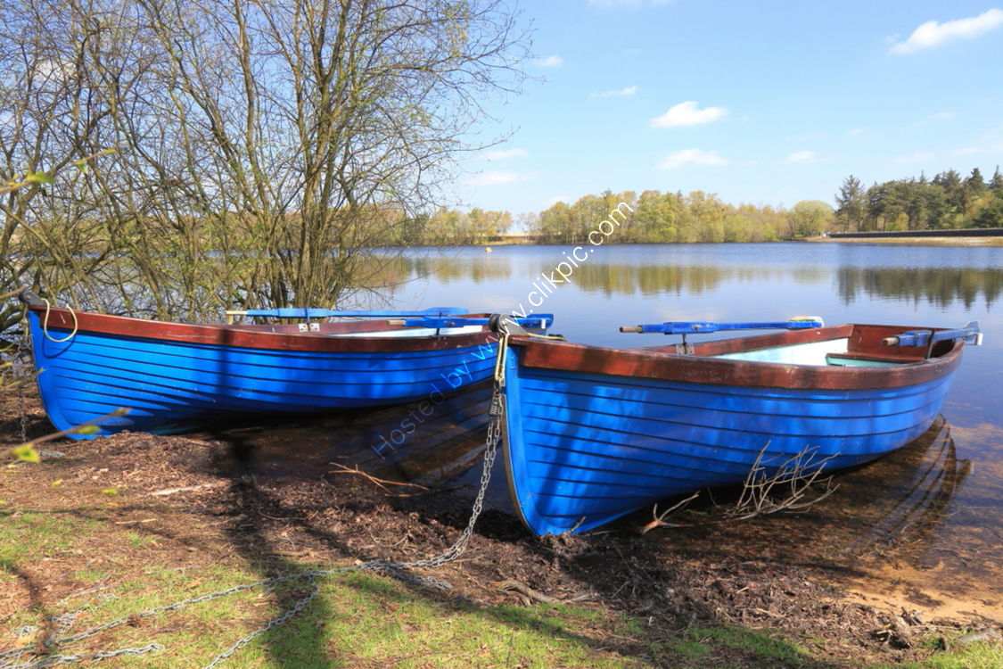Boats at Lumley Moor Reservoir