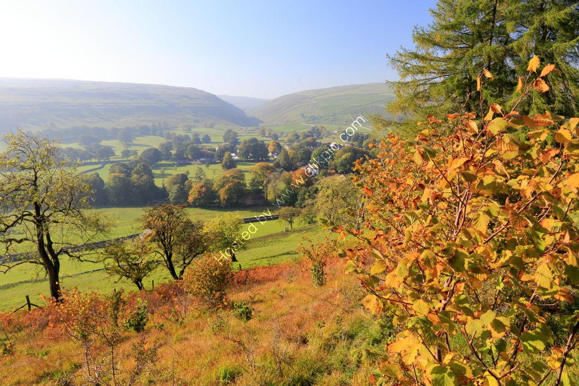 Autumn view of Arncliffe, Littondale