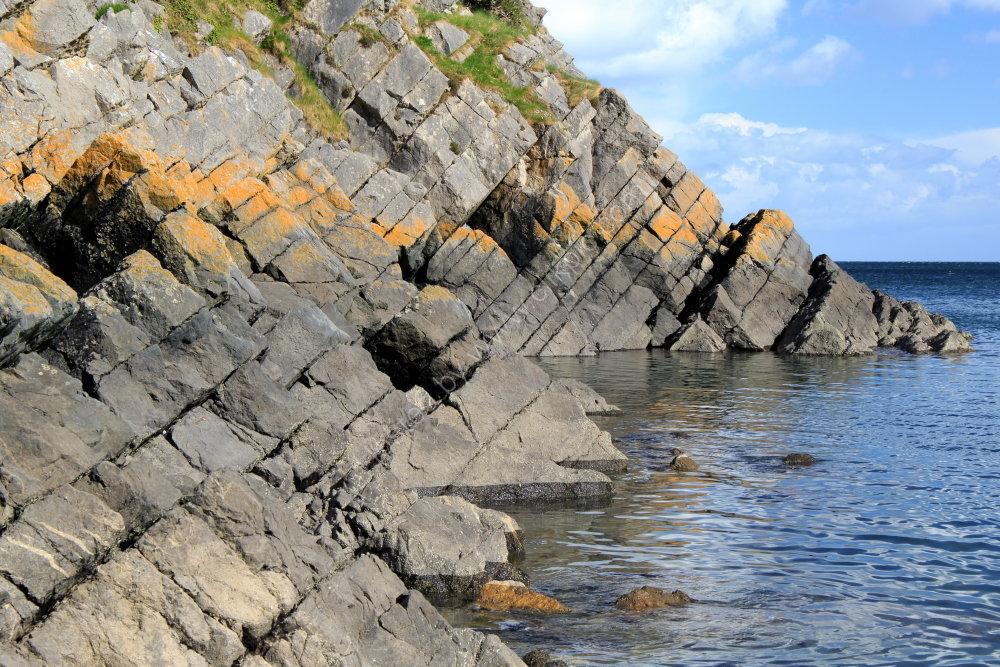 Stackpole Quay rock formation