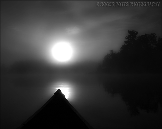 Muskoka Sunrise, Ont. Canada