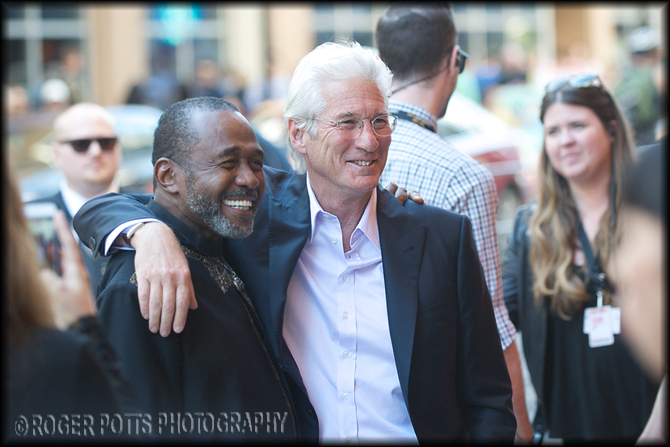 Richard Gere and Ben Vereen TIFF 2014