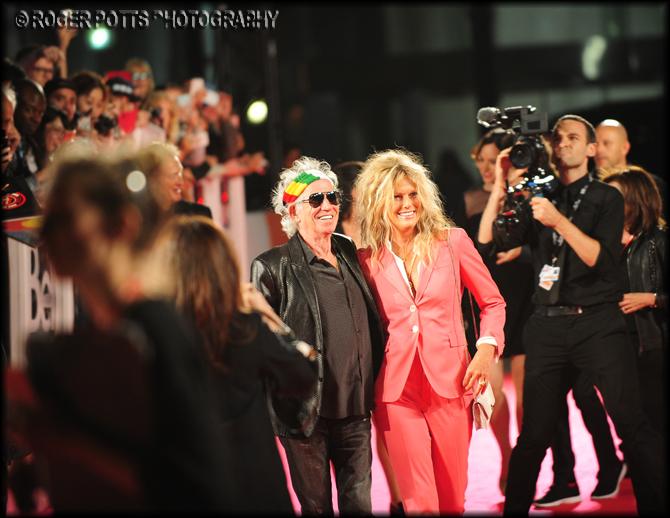 Keith Richards (Rolling Stones) Tiff 2016