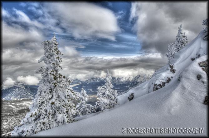 Sulphur Mtn, Alberta, Canada