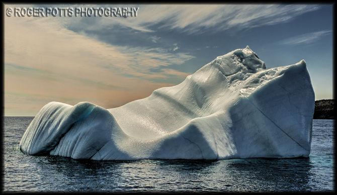 Witless Bay Iceberg, Newfoundland, Canada