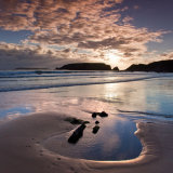 marloes sands beach sunset wales 0174