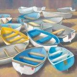 Melange of boats V