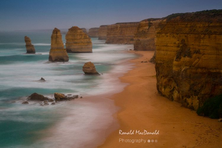 Misty Twelve Apostles, Great Ocean Road