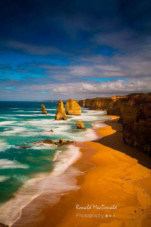Twelve Apostles, Great Ocean Road (portrait)