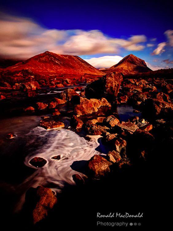 Beinn Dearg and Marsco, Isle of Skye
