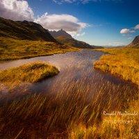 Sgurr nan Gillean in Summer, Skye