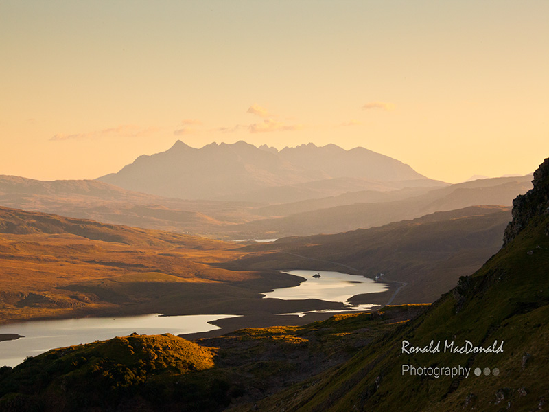 Black Cuillin Shadows, Isle of Skye