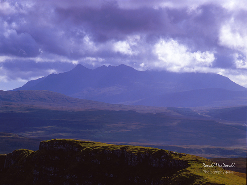 The Black Cuillin from Torvaig, Isle of Skye