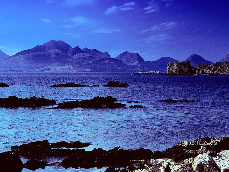 Bla Bheinn from Tokavaig, Skye