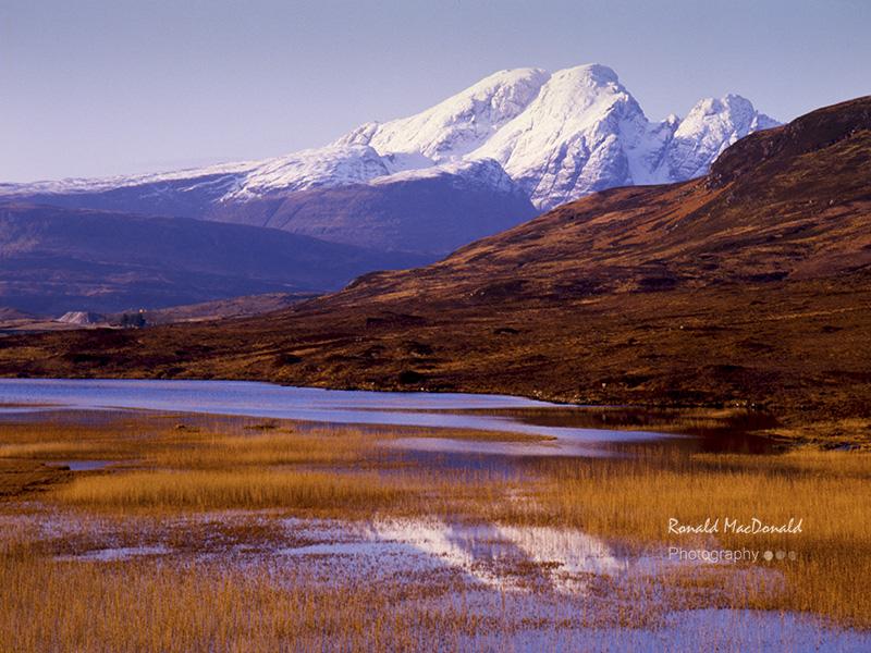 Blaven and Loch Cill Chriosd, Skye