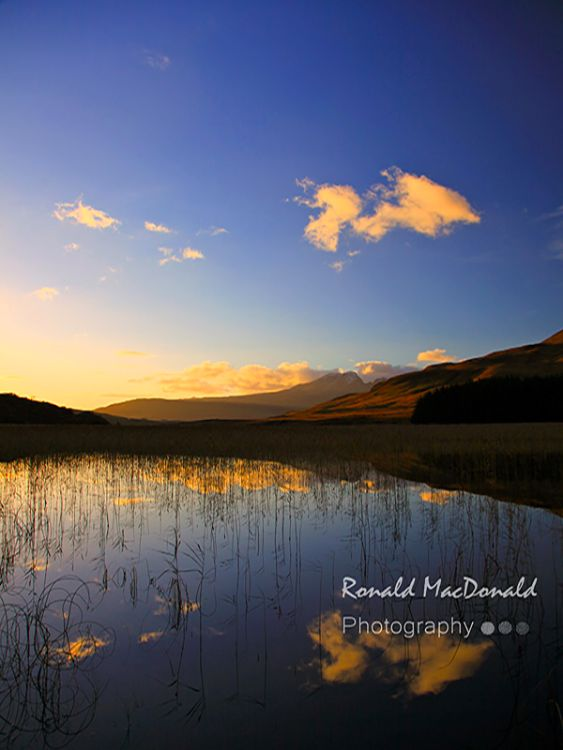 Bla Bheinn Reflections, Skye