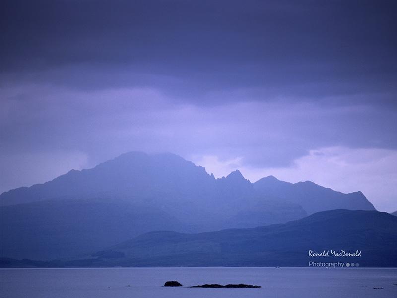 Blaven from Ord, Skye