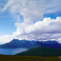 Sgurr na Stri and the Black Cuillin, Skye