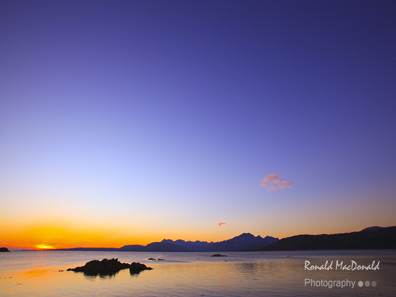 The Cuillin from Ord II, Skye