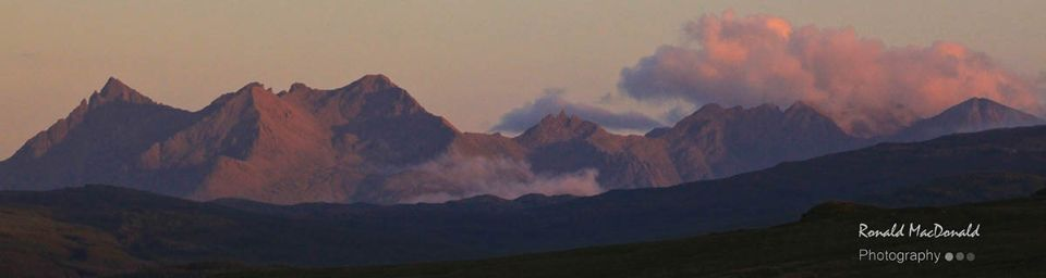Clouds over the Cuillin Ridge