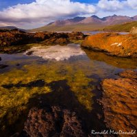Loch Brittle and the Cuillin, Skye