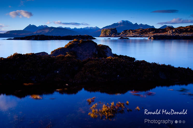 The Cuillin from Ord