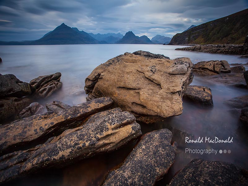 Rocks and the Cuillin, Elgol