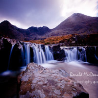 Fairy Pool Rock, Skye