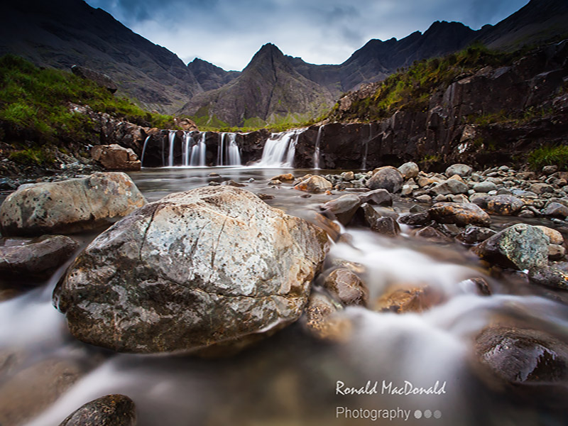 The Fairy Pools in Summer