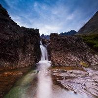 Fairy Pool Cascade, Skye