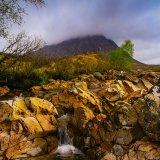 Mist shrouded Buachaille Etive Mor, Glencoe
