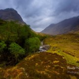 Gearr Aonach and the Pass of Glencoe