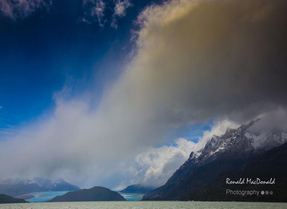 Grey Lake Glacier Chile