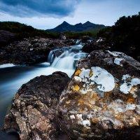 Lichen rocks Sgurr nan Gillan[]