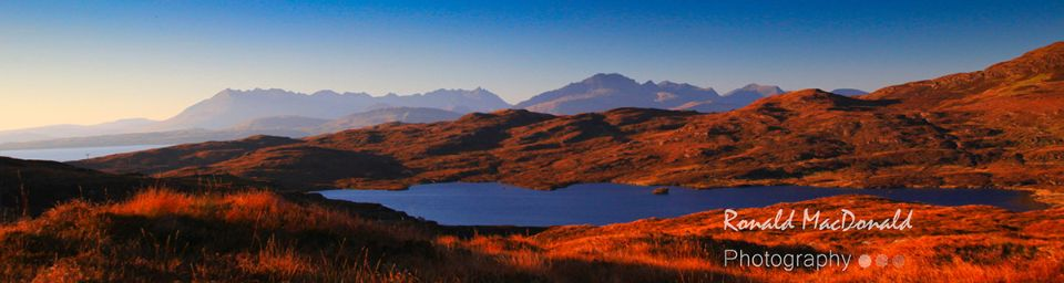 Loch Dhughaill and the Cuillin