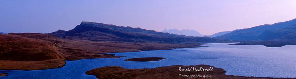 Loch Fada and the Cuillin