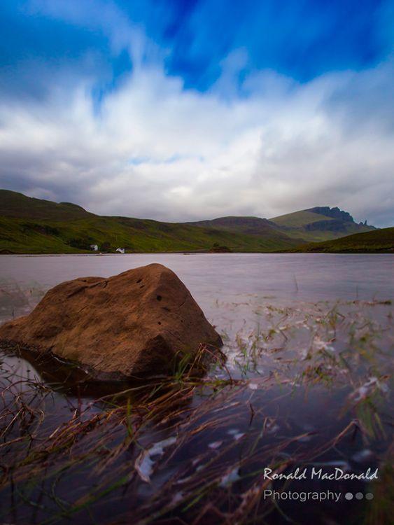 Loch Fada Rock, Isle of Skye