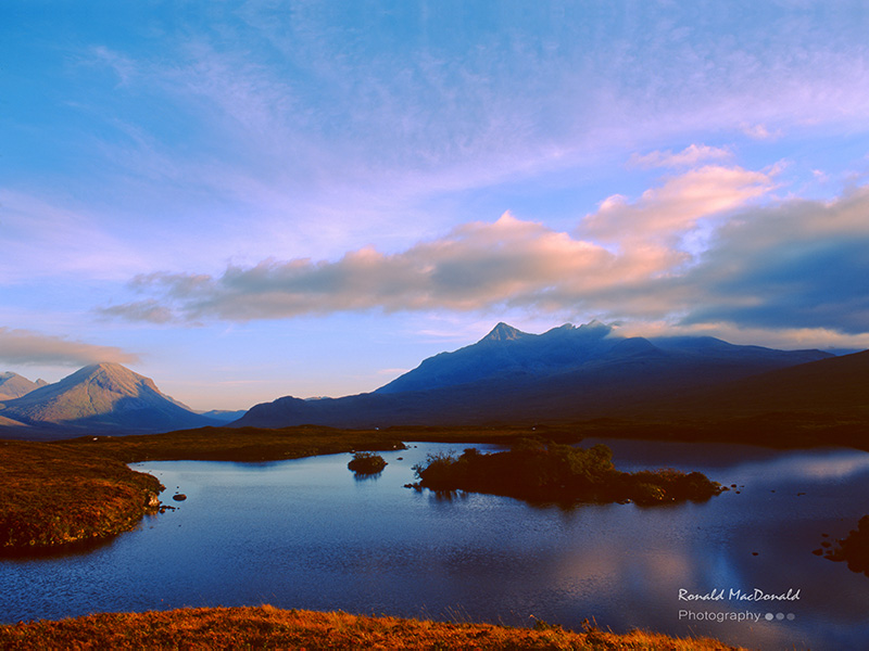 Marsco and the Black Cuillin, Isle of Skye