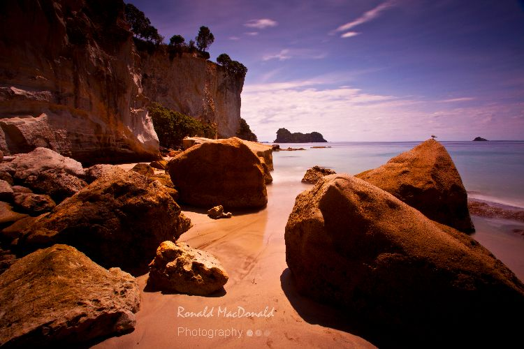 Rocky Outcrop, Abel Tasman, New Zealand