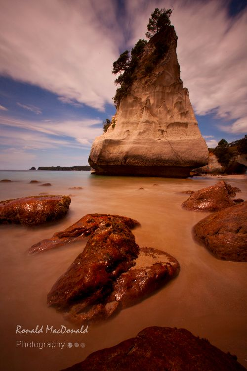 Sail Rock, Cathedral Cove, Coromandel Peninsula