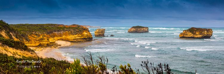 Crofts Bay Panorama, Great Ocean Road