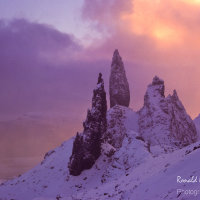 The Old Man of Storr and his Satellites, Isle of Skye